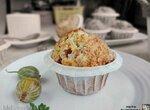 Творожные кексы с крыжовником и кокосом (+видео)