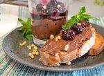 Паста Шоколадный творог с вишнями
