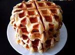 Вафли на твороге Пышные в вафельнице Gfgrill GF-020 Waffle Pro (вкусно утилизируем творог)