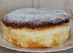 Нежный йогуртовый пирог (без муки)