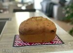 Сладкий хлеб с изюмом (кекс) на сметане или йогурте в хлебопечке Panasonic 2512