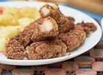 Ломтики из куриного бедра на сковородке - это очень вкусный ужин (+видео)