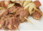 И снова шашлычок: шашлык из грудинки и свиной вырезки в духовке