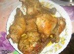 Курица жаренная в скороварке LandLife