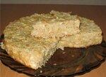 Шарлотка из китайской капусты (или ленивый капустный пирог)