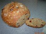 Цельнозерновой хлеб с мюсли и семенами