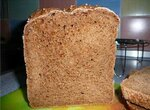 Бородинский хлеб со смесью Бородино (хлебопечка)