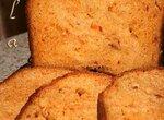 Итальянский хлеб с томатами и сыром  (хлебопечка)