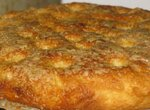 Пирог дрожжевой с карамелью (Brunsviger)