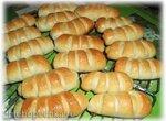 Полосатые кифле с сыром (Автор Milonga)