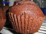 Кекс шоколадный Зимняя вишня