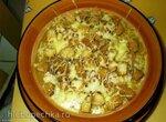 Суп-пюре с сухариками и сыром