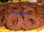 Печенье шоколадно-ореховое заварное