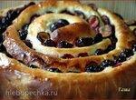 Пирог Сливово-маковое кольцо
