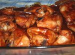 Куриные крылышки в кетчупе
