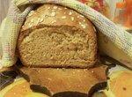 Овсяный хлеб из пшеничной муки грубого помола