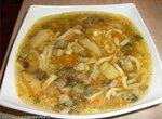 Суп со свежими грибами и домашней лапшой(Cuckoo 1054)