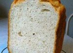 Хлеб с отрубями и яблоком