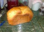 Хлеб пшеничный на кефире в хлебопечке