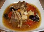 Суп из баранины с грибами и черносливом ( Cuckoo 1054)