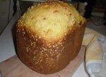 Сдобный хлеб Апельсиновая мечта сладкоежки в хлебопечке