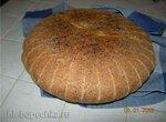 Простой хлеб на цельнозерновой закваске