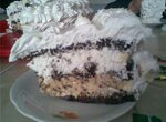 Торт сливочно-сливовый Шоколадный май