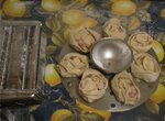 Манты с яйцом