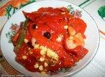 Филе горького красного перца в маринаде