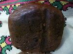 Хлеб пшенично-ржаной Воздушный чёрный (хлебопечка)