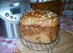 Хлеб пшенично-ржаной обычный в хлебопечке