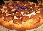 Пирог фруктовый из овсяного теста
