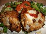 Окорочка куриные запечённые в маринаде(Cuckoo 1054)