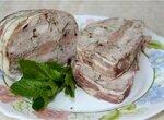 Террин из свинины и говядины
