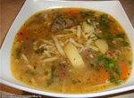 Суп с машем и лапшой (мош угра) ( Cuckoo 1054)