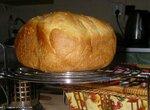 Хлеб с сыром и кунжутом (хлебопечка)