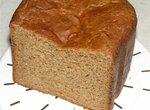 Черный хлеб с красным перцем (хлебопечка)