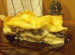 Лазанья грибная с соусом Бешамель