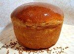 Хлеб пшенично-гречневый с творогом