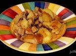 Картошка запеченая с грибами