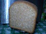 Пшеничный 100% цельнозерновой хлеб с тыквенными и подсолнечными семечками