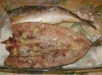 Пикантная рыбка с чесноком