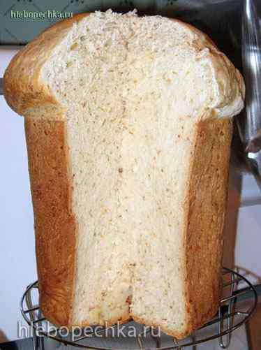 Кунжутный хлеб  (хлебопечка)