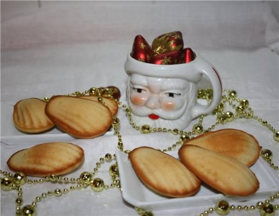 Пирожное Мадленки