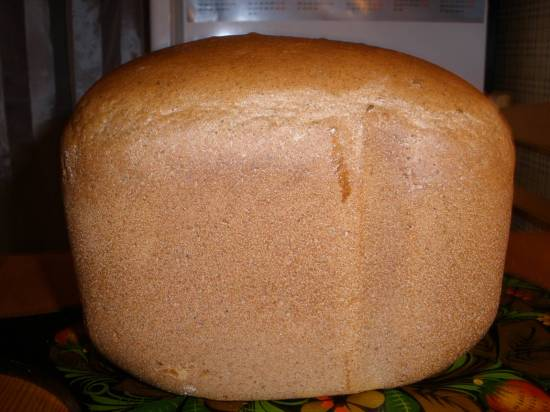 Ржаной хлеб - Памперникель  (Автор Zarina) в хлебопечке