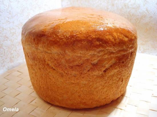 Ситный хлеб на закваске (духовка)