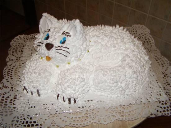 "Торт ""Кошка"" Мастер-класс"