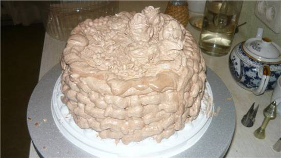 Торт «А-ля-Киевский»