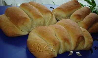 """Хлеб  """"Гармошка""""  (замес в хлебопечке)"""