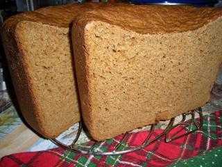 Хлеб очень похожий на Ароматный (хлебопечка)